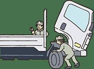 いすゞリースのメリット:管理業務をサポートし、確実な点検を実施!