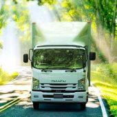 ISUZU 準中型免許 対応 GVW 7.5トン車を FORWARD に展開